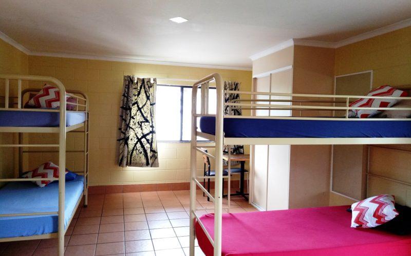 4-Share Dorm at Koala Beach Resort Cairns