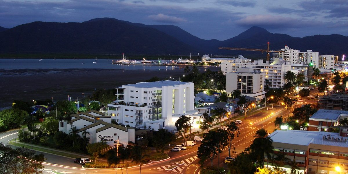 Cairns City by Night